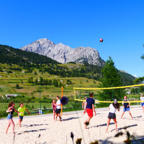 Terrain de Beach Volley et Beach Soccer