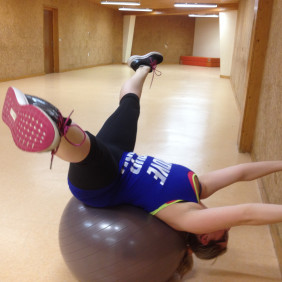 Pilates sur ballon