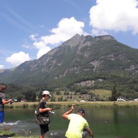 Pêche au Lac de Flérier