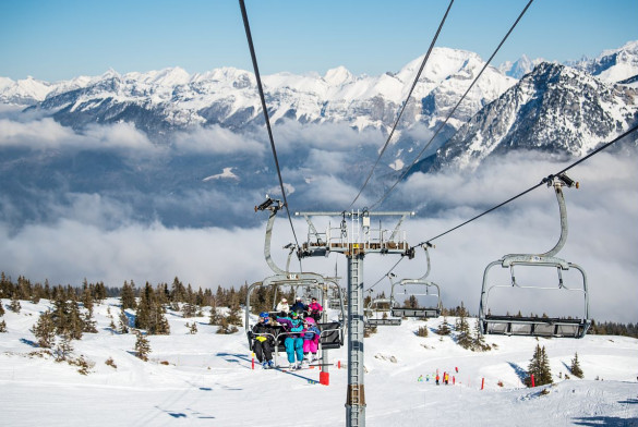 Domiane skiable Aillons-Marégriaz1400