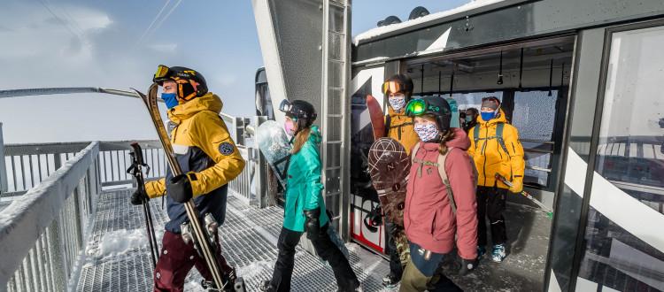S'équiper d'un tour de cou anti Covid pour la saison de ski !