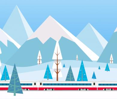 Vacances au ski, et si vous veniez en train ?
