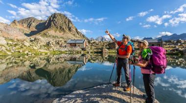 L'itinérance à la carte dans le Parc national des Ecrins