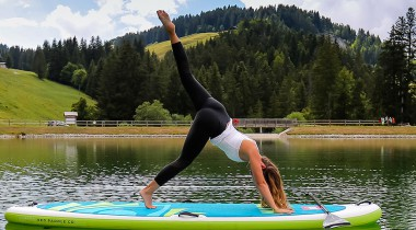 Cet été, yoga en plein air et avec vue sur les montagnes !