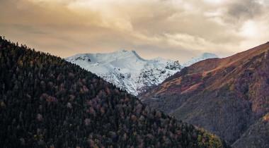 Portfolio : un automne enneigé en station