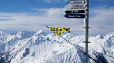 The largest ski areas in France